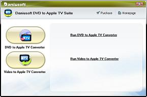 Daniusoft DVD to Apple TV Suite - DVD/Video to Apple TV Converter, rip DVD to Apple TV