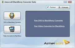 Aimersoft BlackBerry Converter Suite - DVD to BlackBerry Converter, BlackBerry Video Converter