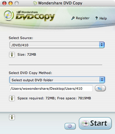 Wondershare DVD Copy for Mac - Mac DVD Copy Software, Mac DVD Copying