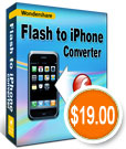 Wondershare Flash to iPhone Converter - SWF to iPhone Converter