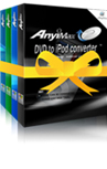 AnyiMax 4in1 Suite-Convert all video and DVD to iPod/iPhone
