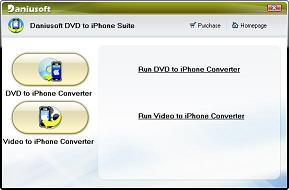 Daniusoft DVD to iPhone Suite - Convert DVD to/for iPhone, Video/DVD to iPhone Movie Converter