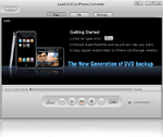 iLead DVD to iPhone Converter, New generation DVD to iPhone video Converter