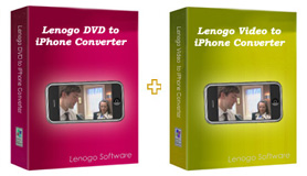 Lenogo DVD Video to iPhone Converter - AVI, MPG, MPEG, ASF, WMV, MOV, 3GP, AMR, FLV, FLIC, SWF, RM, RMVB to iPhone Converter.