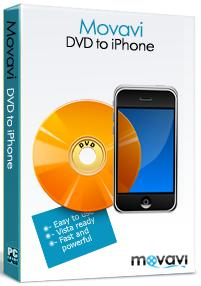 Movavi DVD to iPhone converter is a multi-functional video application for ripping unprotected DVDs for iPhone.
