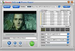 Movkit DVD to iPhone Ripper - Convert DVD to iPhone video, iPhone Converter, DVD to Apple TV