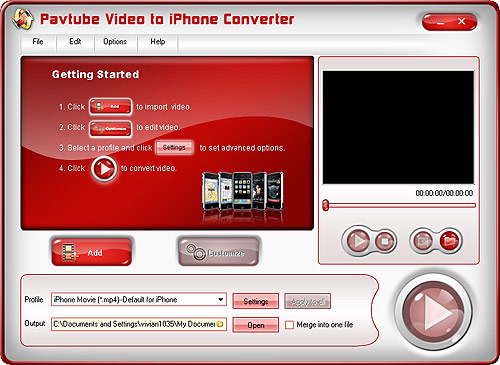 Pavtube Video to iPhone Converter - best software to convert  video to iPhone, iPhone movie converter.