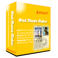 AnvSoft iPod Movie Maker transfers your digital camcorder tapes and various video files into high quality movie playable on iPod.