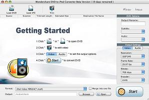 Wondershare DVD to iPod Converter for Mac - DVD to iPod Touch for Mac, Mac DVD to iPod Nano