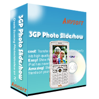 3GP Photo Slideshow allows you to create entertaining 3GP MP4 format photo slideshows playable on 3GP compatible cellular phones. With 3GP Photo Slideshow,