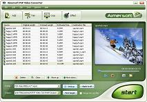 Aimersoft PSP Video Converter - Convert Video to PSP Converter, PS3 Video Converter