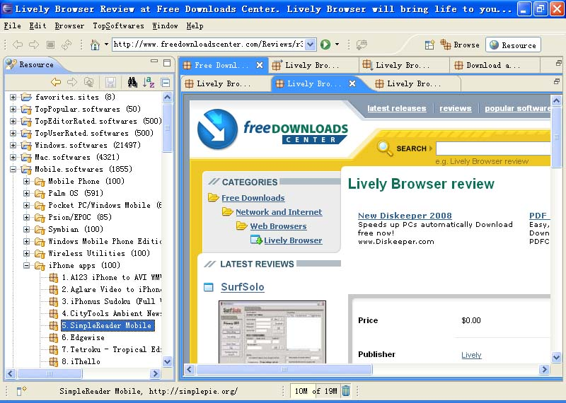 TopSoftwares Explorer