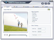 Wondershare Video to Flash Converter - Video to Flash Encoder, Video to Flash Conversion, Convert Video to flash, MPEG to Flash